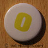 Lowercase O Button Badge