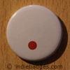 Punctuation Full Stop Button Badge
